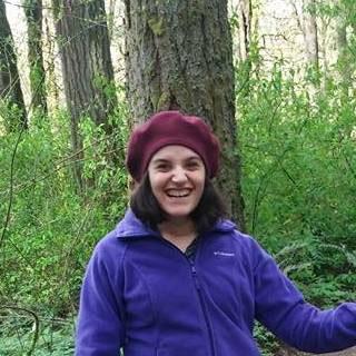 Marie hiking
